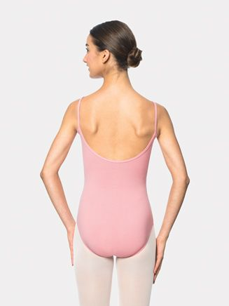 7a897159f Adult Brushed Cotton Camisole Leotard
