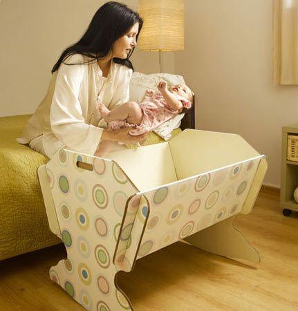 cardboard cradle Green Lullaby