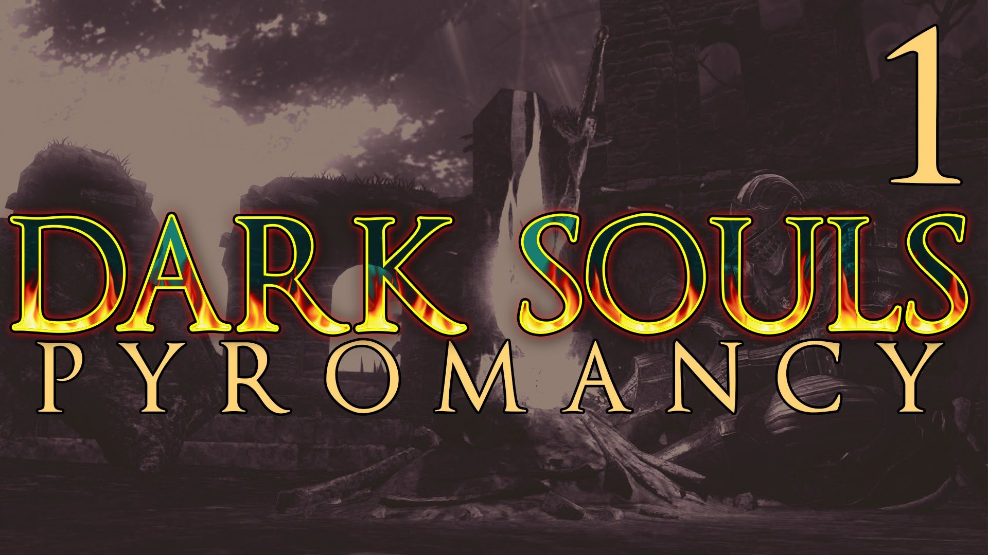 Dark Souls SL1 Pyromancy Walkthrough Part 1 [Undead Asylum