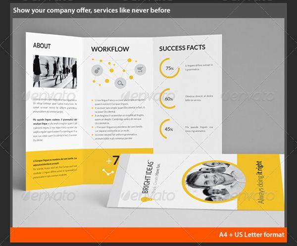 35 premium free brochure templates pinterest brochure