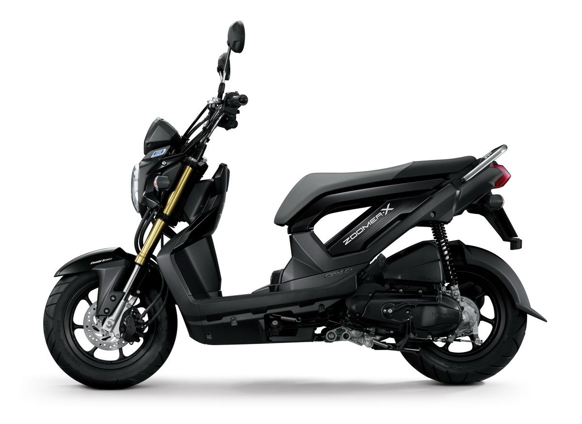 honda zoomer x black thailand motorcycles 50cc moped. Black Bedroom Furniture Sets. Home Design Ideas