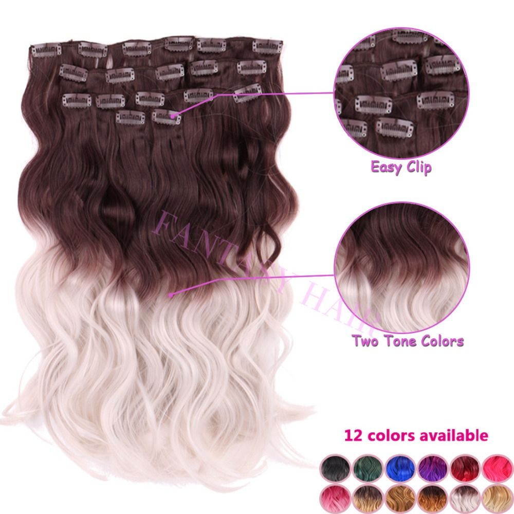 Find More Clip In Hair Extensions Information About Heat Resistant