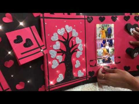 Diy scrapbook idea gift idea handmade gift youtube