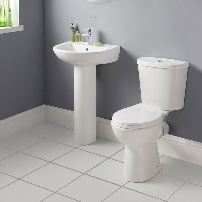 Express 4 Peice Bathroom Suite 79 00 A Brand New Modern Suite For Any Style Bathroom Order At Cheap Bathroom Suites Simple Bathroom Designs Bathroom Suite
