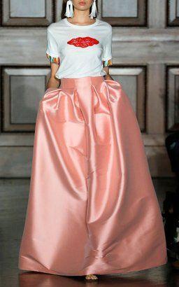 b935118fe Buddah Fringe Lips Tee and Kennedy Full Skirt by Sachin + Babi ...