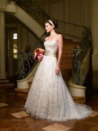 Casablanca Bridal style #1971- available for try on by appointment at our Portland, Maine store!