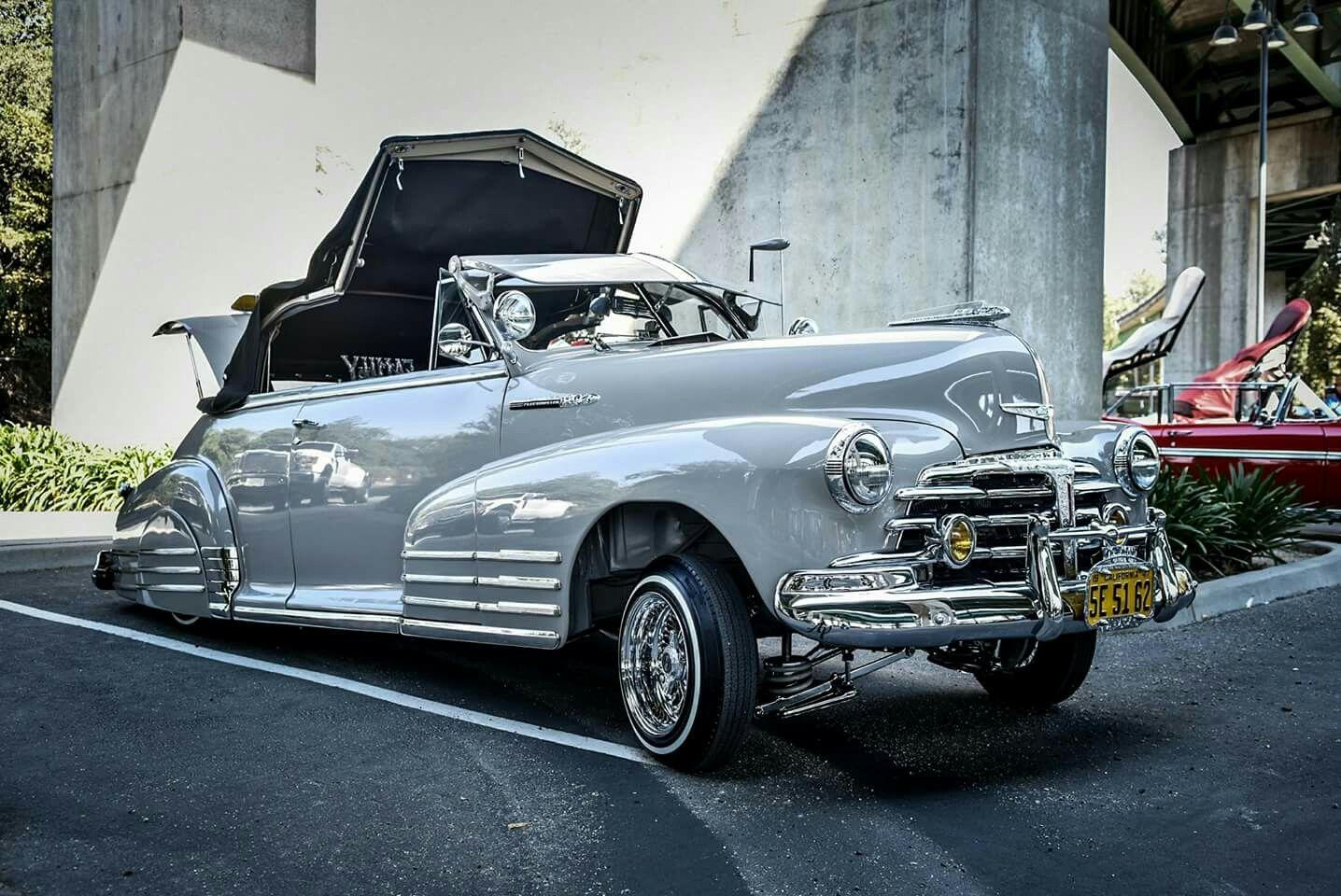 1949 Chevrolet Fleeline Aerosedan Lowrider Oldie Drop Top Classic Cars Vintage Lowriders Vintage Cars