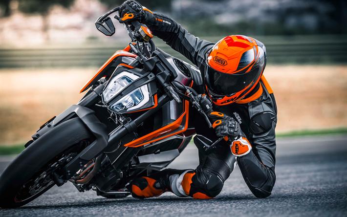 Download Wallpapers Ktm 790 Duke 2018 4k Sports Bike Racing