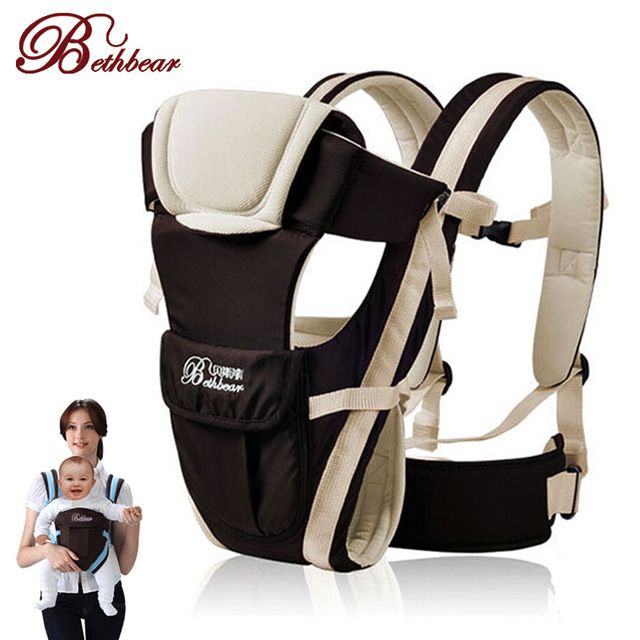 2 30 Months Breathable Multifunctional Front Facing Baby Carrier Infant Comfortable Sling Backpack Pouch Baby Backpack Carrier Baby Sling Carrier Baby Backpack