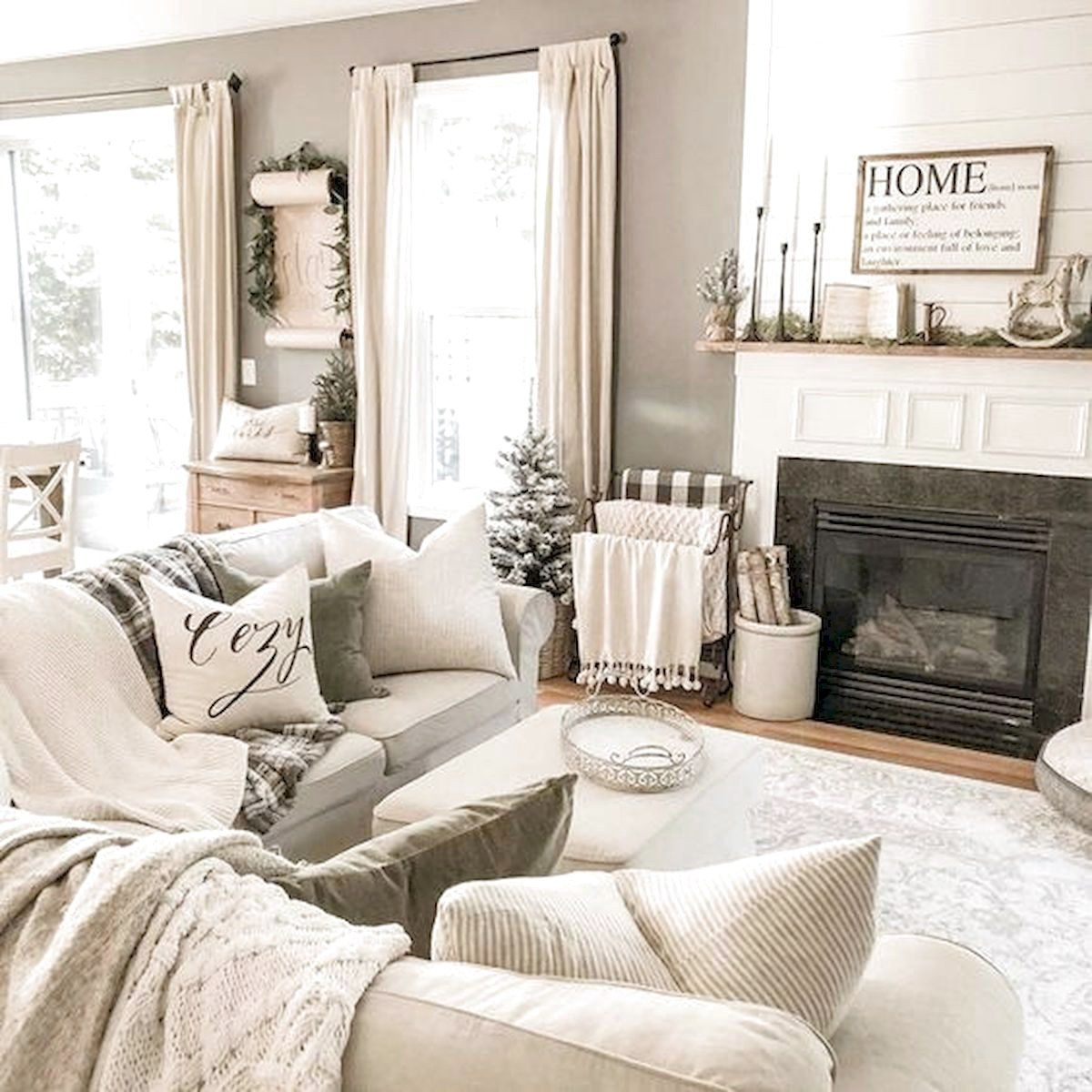 101 Best Farmhouse Living Room Decoration Ideas Farmhouselivingroom In 2020 Farm House Living Room Farmhouse Living Room Furniture Simple Living Room #simple #farmhouse #living #room #decor