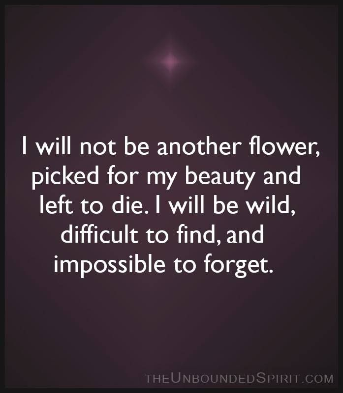 Not just another flower....