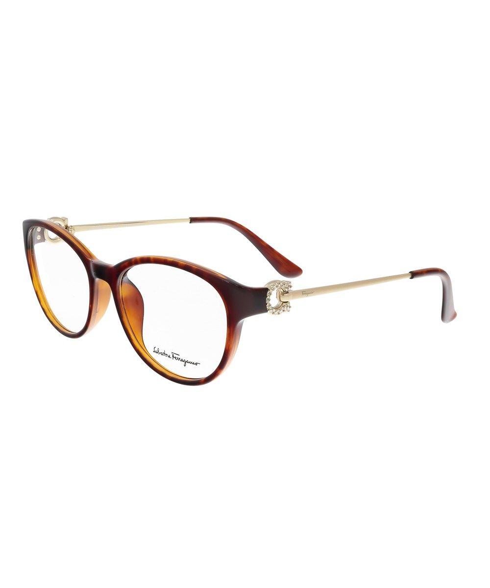 Sf2704/R 214 Tortoise Cateye Optical Frames\', Brown | Salvatore ...
