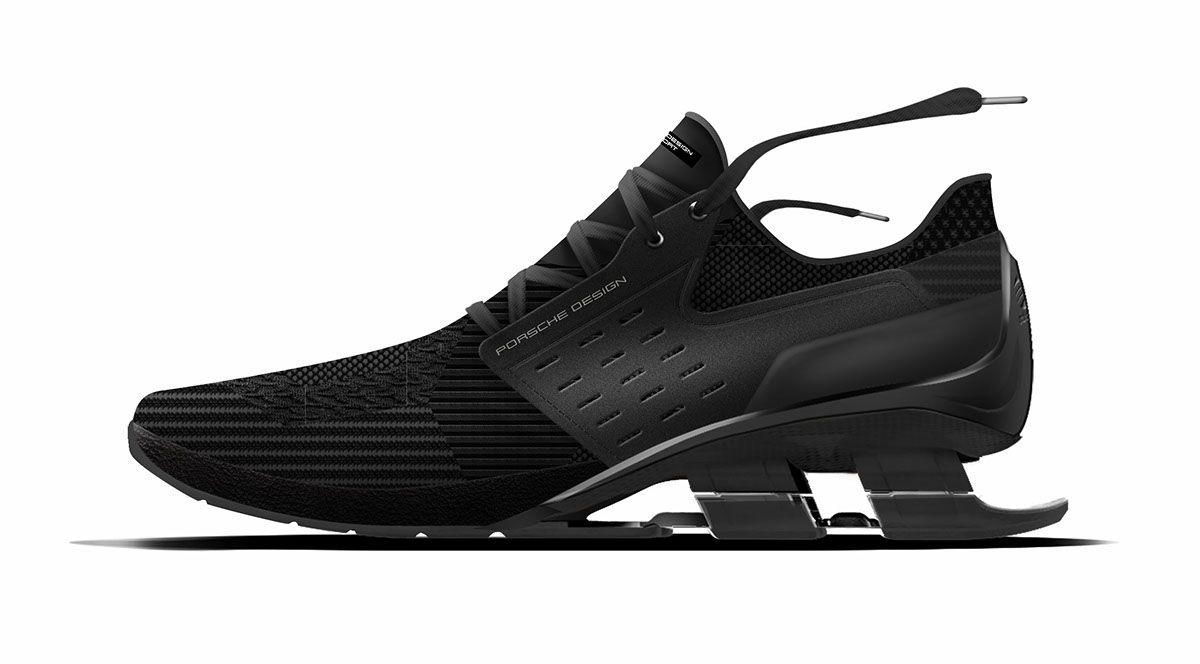 Adidas x porsche design sport bounces4 estilo en behance zapatos