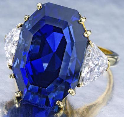 M Gerard, Ceylon sapphire