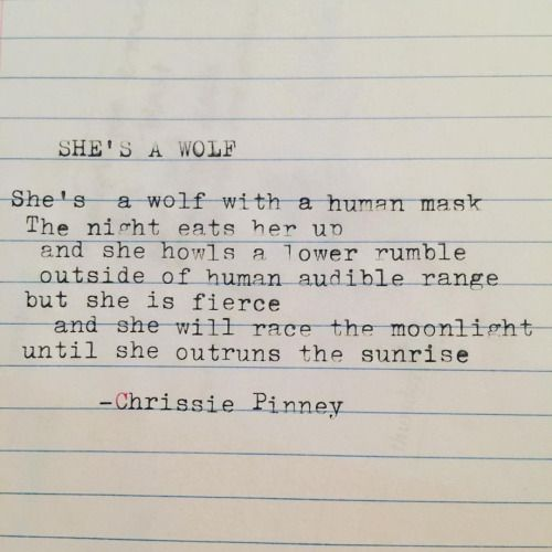 Women Who Run With The Wolves Quotes: She's A Wolf. Gypsy Chronicles No. 49