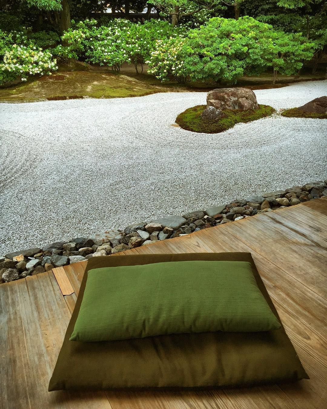 Zen Meditation At Kennin Ji Temple