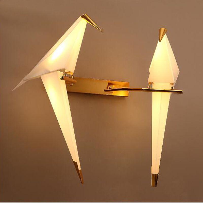 Moderne Verlichting liefde Vogel Wandlamp Slaapkamer keuken Bed ...