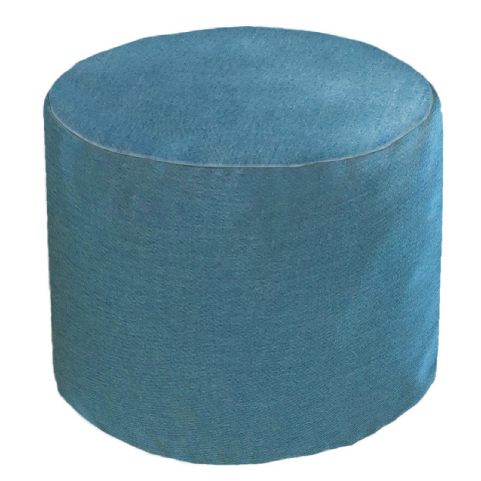 Remarkable Core Covers Outdoor Indoor 22 In Round Sunbrella Pouf Cast Machost Co Dining Chair Design Ideas Machostcouk