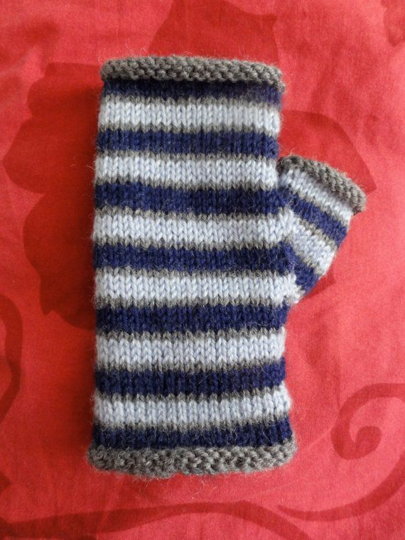 Fingerless Mittens | Knit One Purl One | Pinterest | Guantes ...