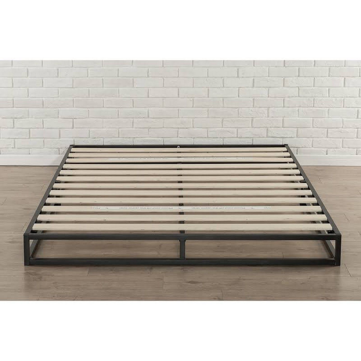 Google Express  Priage 6 Inch King Size Metal Platform Bed Frame