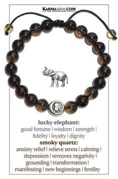 #bracelet #wristband #lucky #elephant #goodluck #pulseras #joy #reiki #smoky #quartz #spirit #animal #buddhist #buddha #wedding #husband #wife #gift #SelfCare #SELF #CARE #LOVE #wellness #rainbow #meditation #meditate #anxiety #depression #pray #relationship #fertility #infertility #mens #enlightenment #chakra #healing #crystal #zen #infinity #faith #fertility #infertility #marriage #crystalhealing