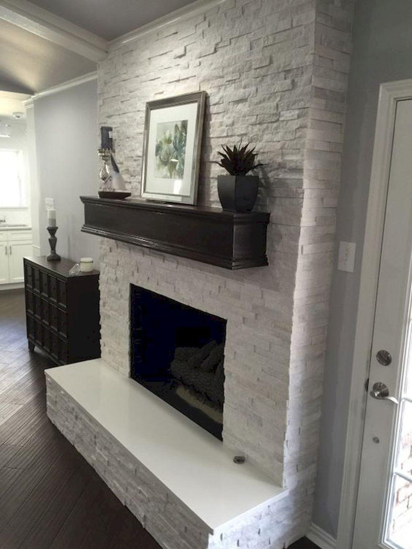 35 Best Remarkable Fireplace Decoration Ideas Brick Fireplace