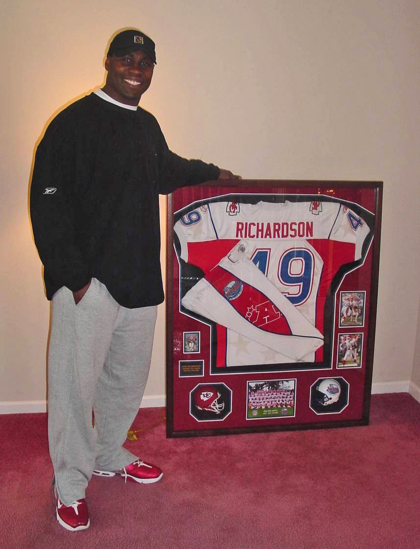 promo code eabe7 154cb Kansas City Chiefs legend Tony Richardson Pro Bowl jersey ...