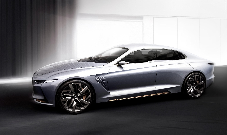 2016 Hyundai Genesis New York Concept Дизайн, Автомобили