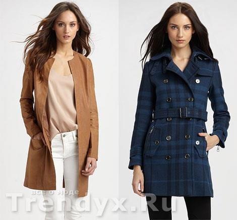 Модные весенние пальто известных брендов   Брендовая одежда ... 49a47063aeb