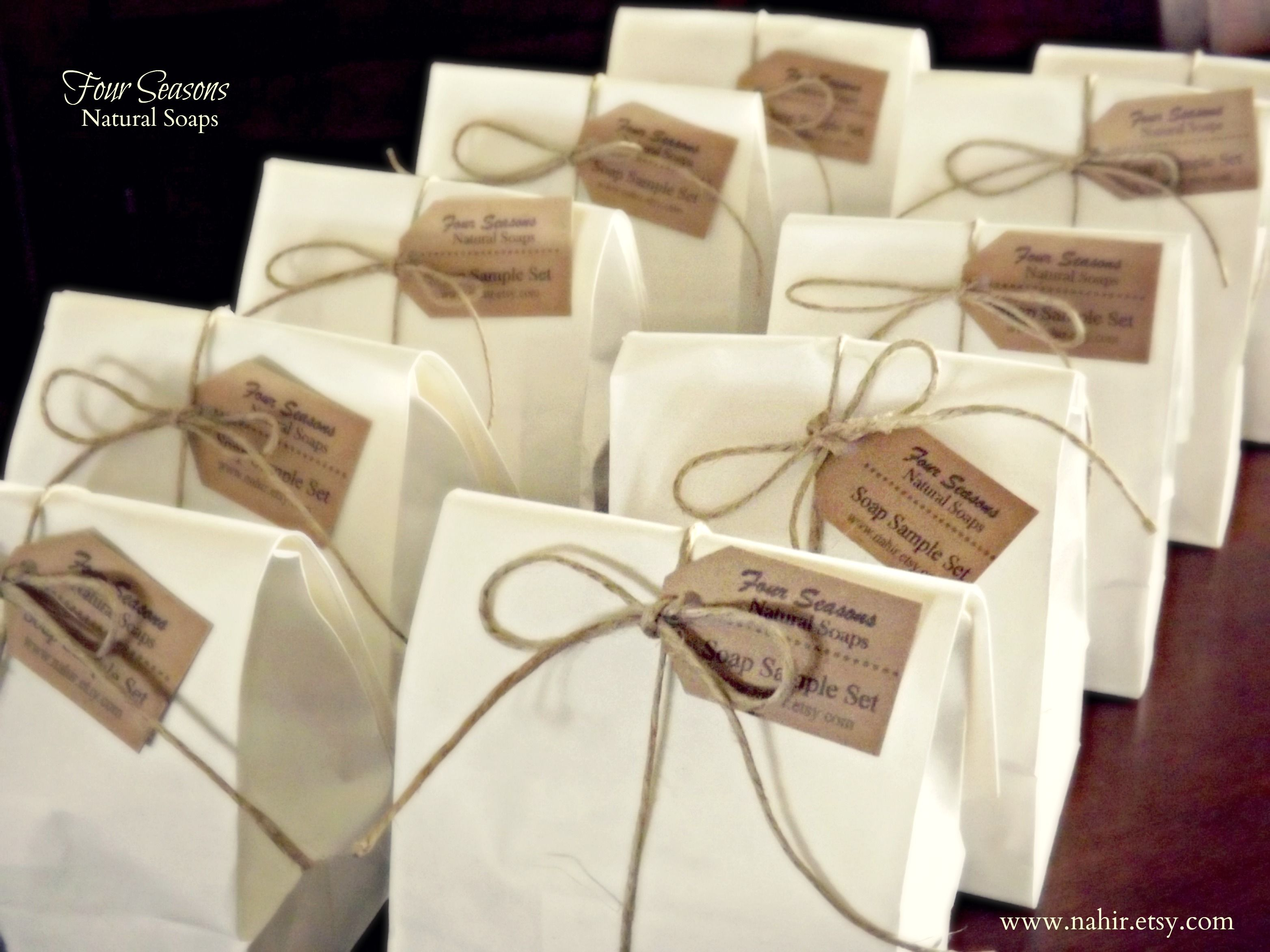 Soap Sample Bag... Rustic Packaging | Four Seasons Natural Soaps ...