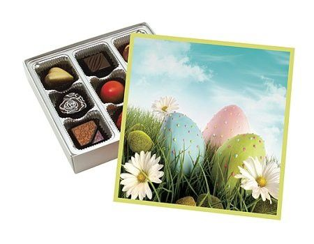 Sugar free easter meadow gift box with milk dark chocolate cordial sugar free easter meadow gift box with milk dark chocolate cordial cherries by diabetic candy negle Image collections