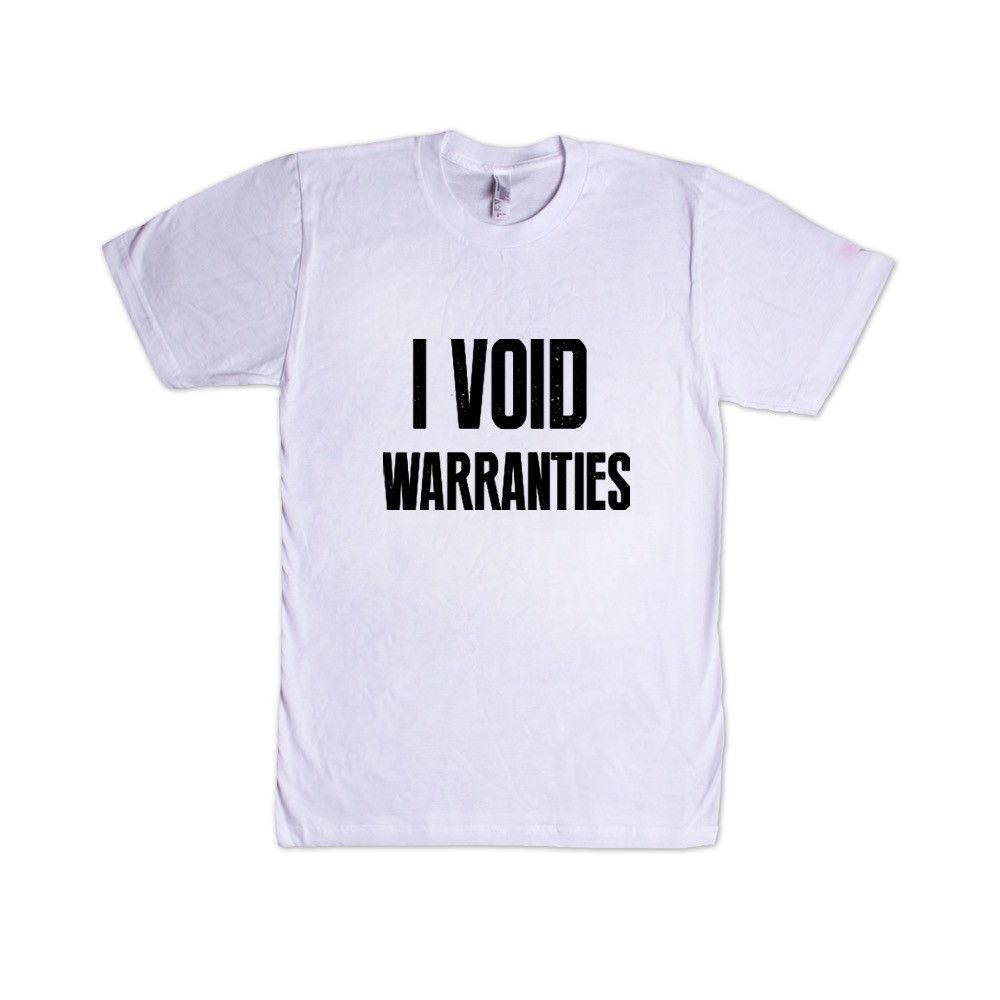 24a685fc6c I Void Warranties IT Information Technology Network Engineer Help Desk Funny  Gift Office Wifi Computers Tech SGAL8 Unisex T Shirt
