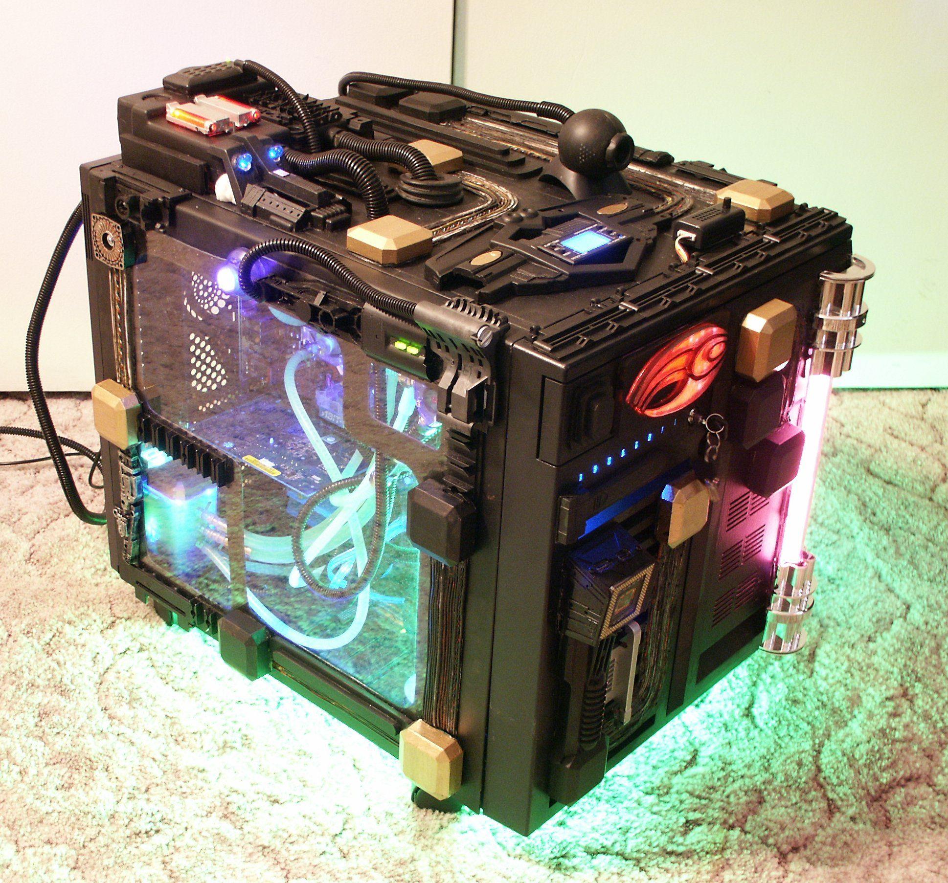 Computer Case Mod Computer case, Custom computer, Custom pc