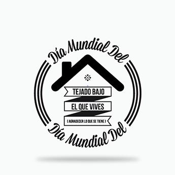 3 Diciembre Dia Mundial Del Tejado Bajo El Que Vives Sport Team Logos Team Logo Juventus Logo