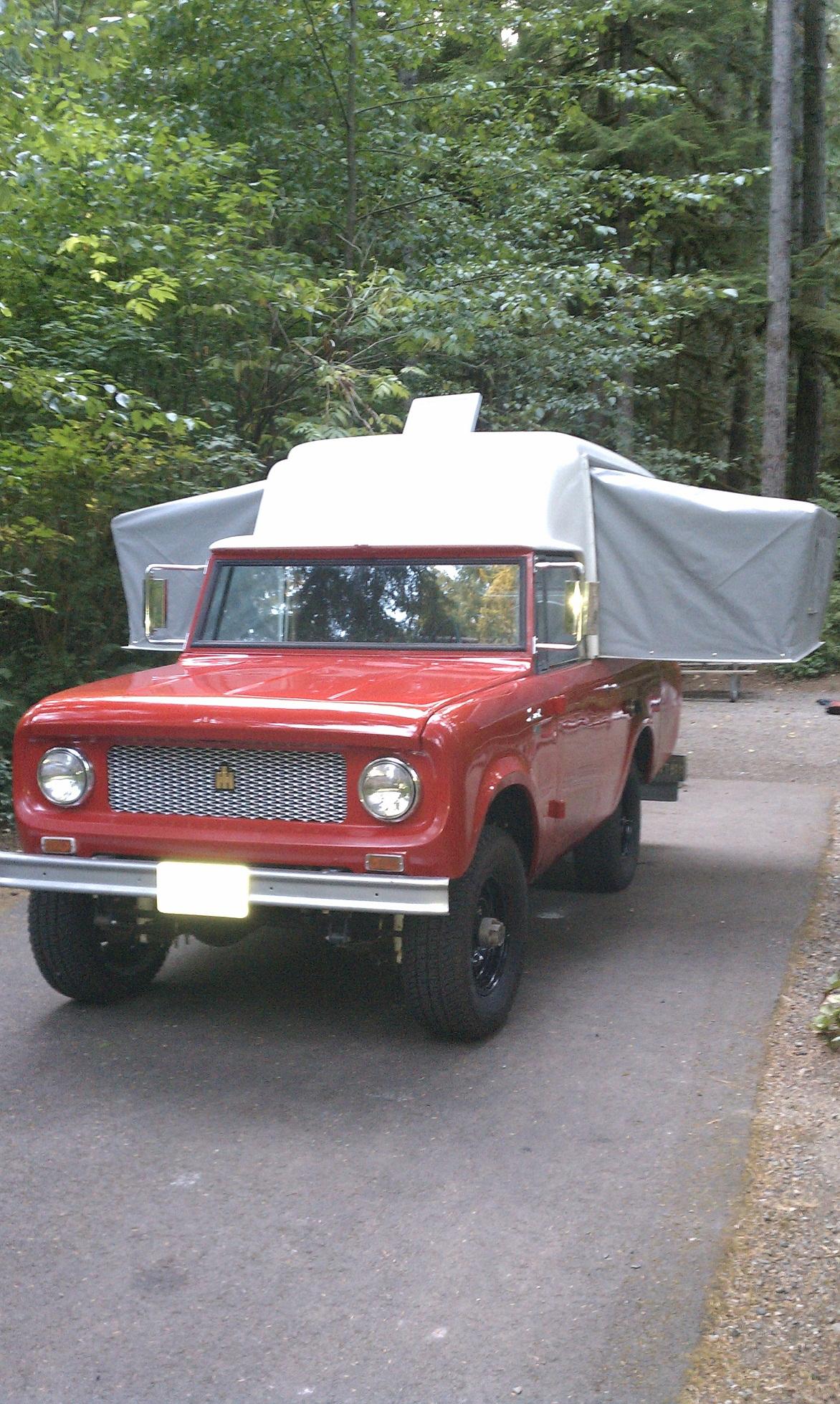 Autobot Transformer Camper Scout Slide In Camper Truck