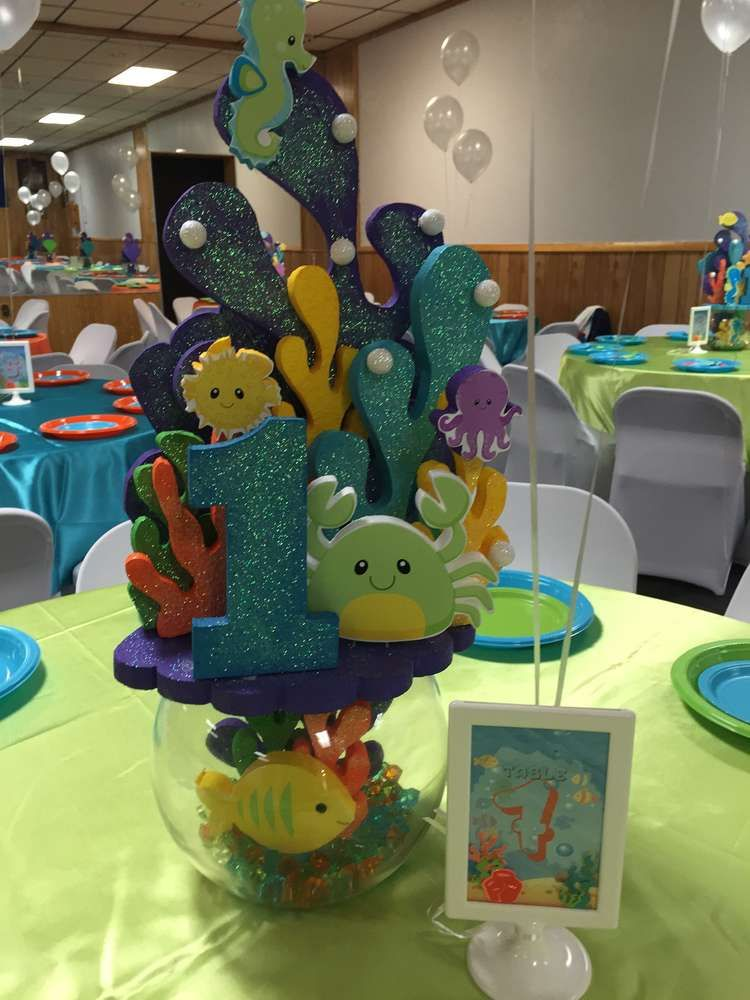 Under the Sea Birthday Party Ideas Sea birthday party