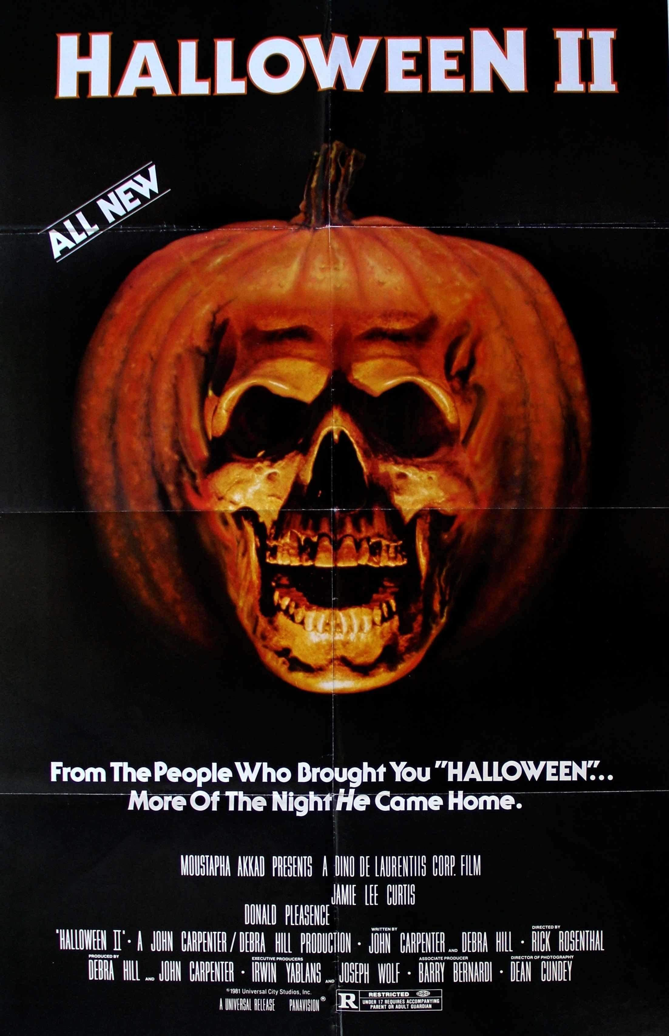 Halloween Ii 1981 Halloween Ii Halloween Movies Horror Movie Posters