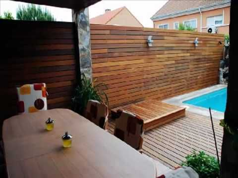 Elementos de dise o para jardines terrazas y piscinas for Disenos de terrazas de madera