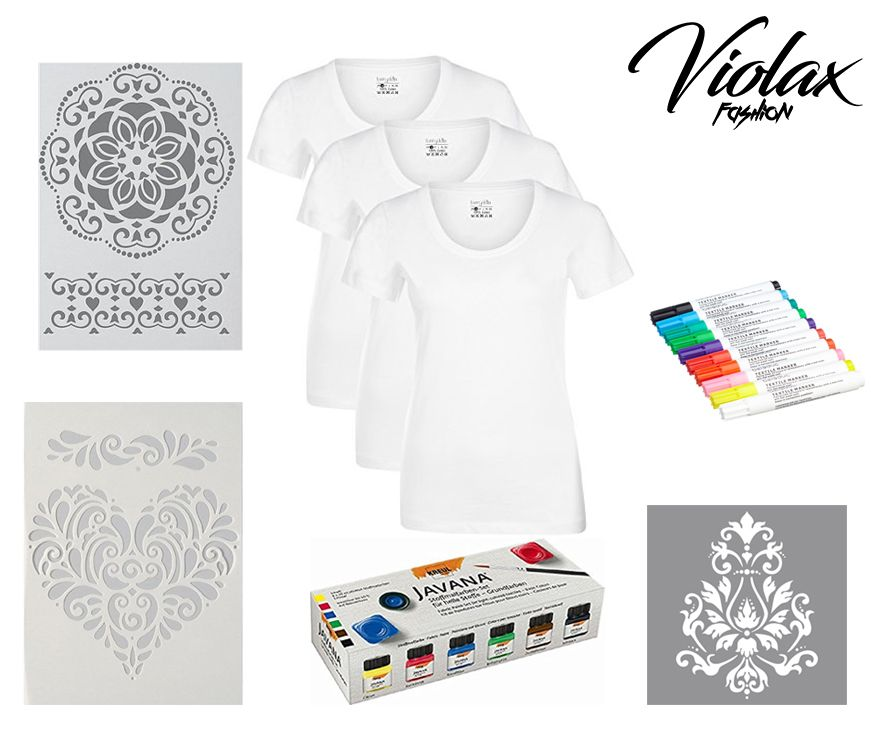 Sei kreativ, Designe deine eigenen T-Shirts!