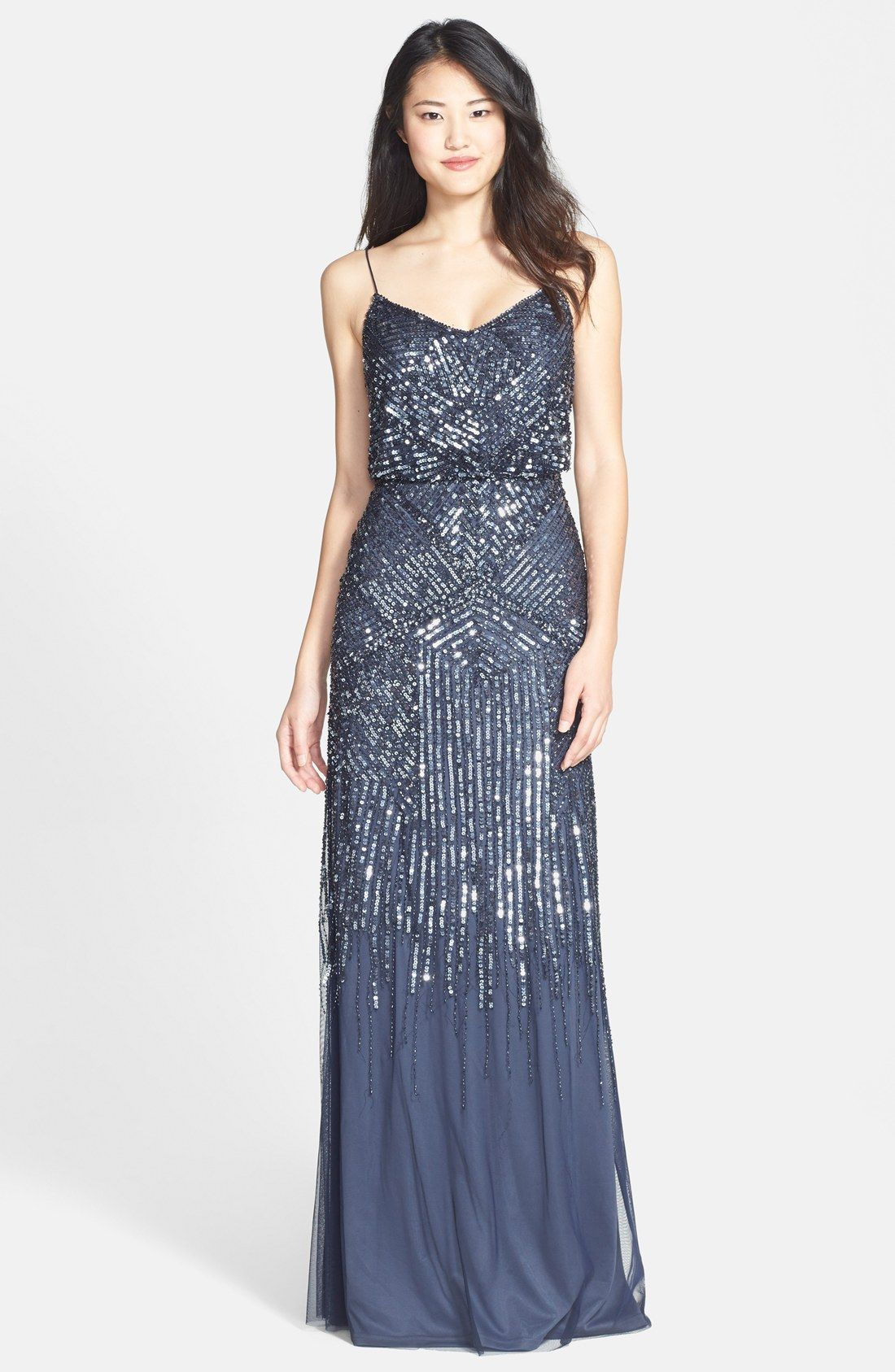 Free shipping and returns on adrianna papell beaded blouson gown free shipping and returns on adrianna papell beaded blouson gown at nordstrom angled ombrellifo Gallery