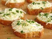 Fırında Sarımsaklı Ekmek Tarifi Hazırlanış Resmi 8 - Kolay ve Resimli Nefis Yemek Tarifleri