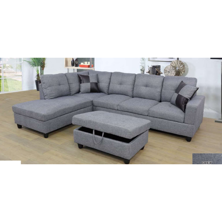 Home in 2019 | Grey sectional sofa, Sectional sofa, Living ...