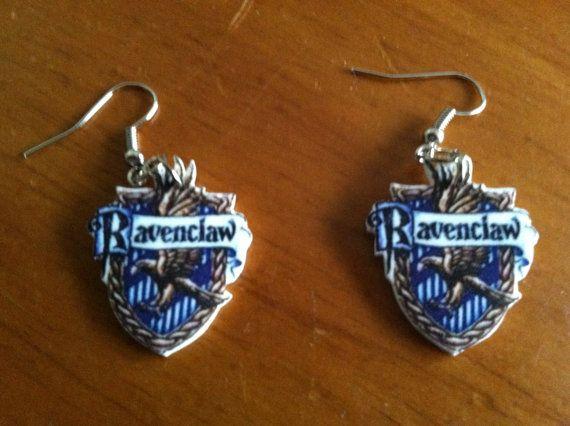 Harry Potter Ravenclaw Shrinky Earrings