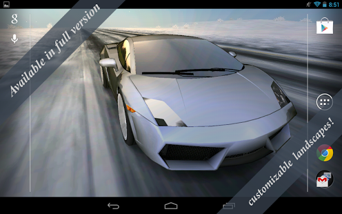 Cars live wallpaper free download of android version | m. 1mobile. Com.