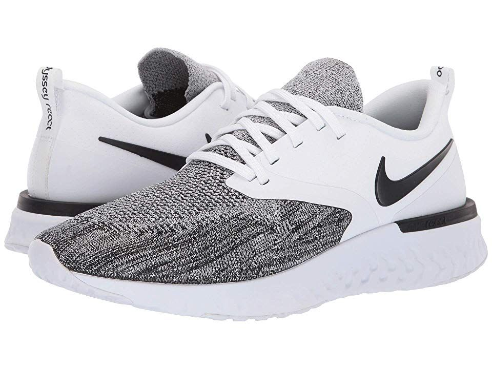 Nike Odyssey React Flyknit 2 Men's Running Shoes WhiteBlack