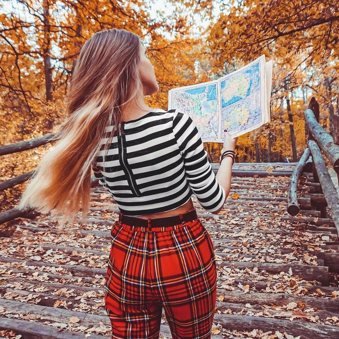Идеи для фото. Идеи для фото осенью. Идеи для фото в лесу ...