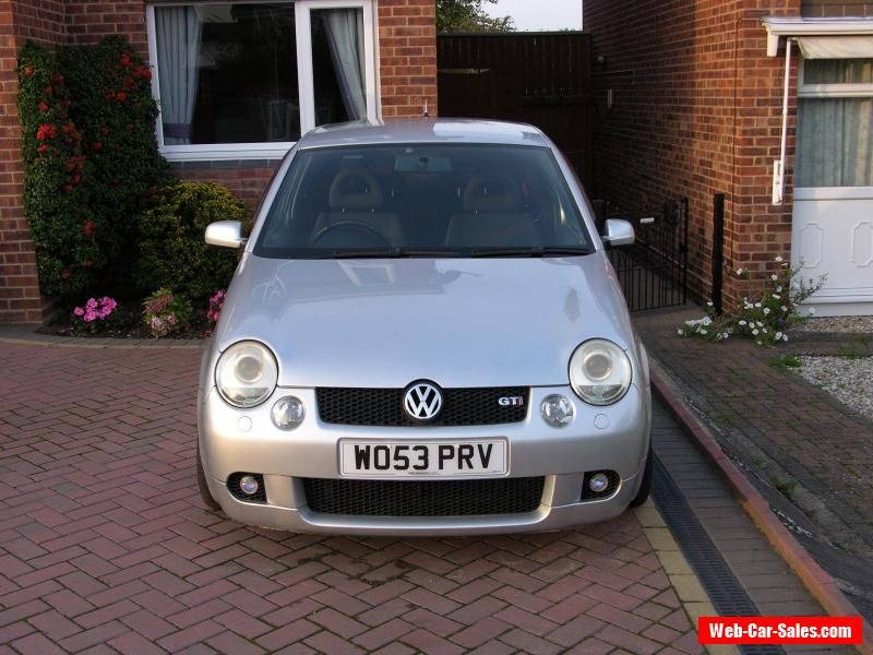 2003 VOLKSWAGEN LUPO GTI SILVER #vwvolkswagen #forsale ...