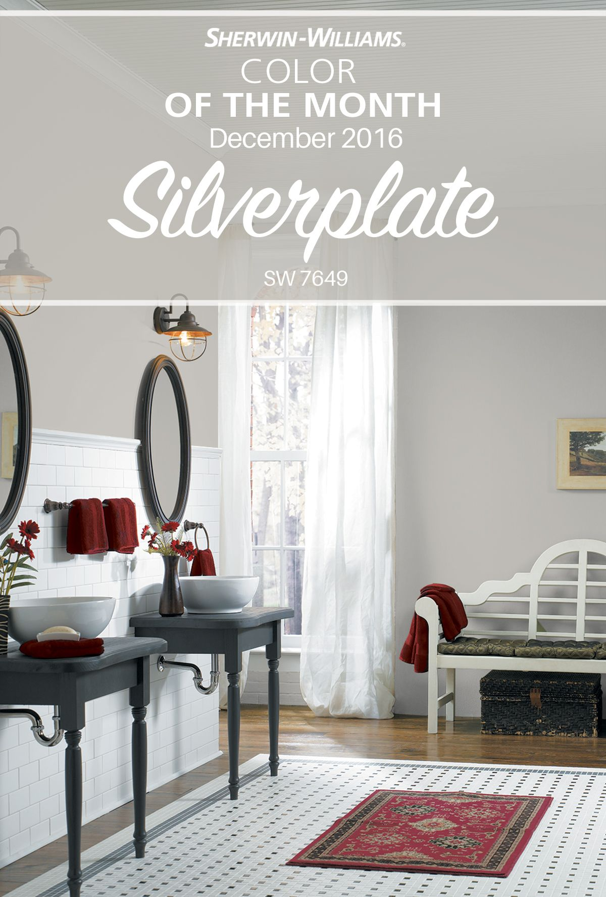 suggests  ultimate  chic sophistication  sherwin williams color