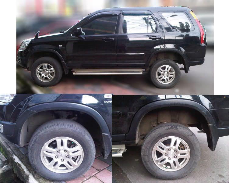 CRV lift kit or bigger tires? off roadin - Page 16 - Honda
