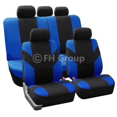 2013 Honda Accord Flat Cloth Car Seat Covers Airbag Split Compatible Seat Covers Carseat Cover Bench Covers